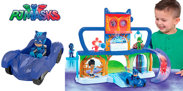 Playset Base Secreta PJ Masks en oferta