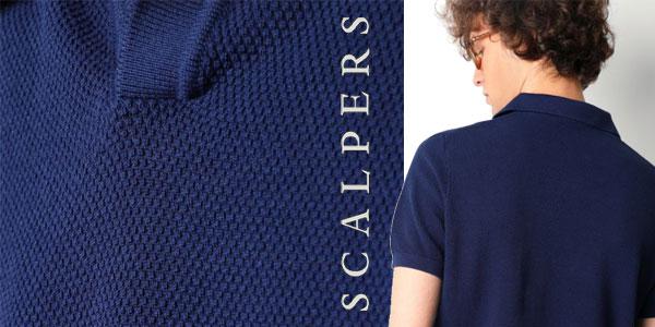 Polo Scalpers Darien en azul o en blanco para hombre chollazo en Amazon