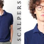 Polo Scalpers Darien en azul o en blanco para hombre barato en Amazon