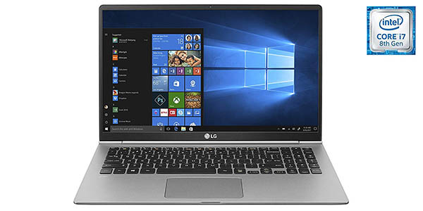 Portátil LG Gram 15Z980-B de 15,6'' Full HD