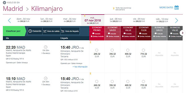Qatar Airways vuelos con destino a Asia low cost