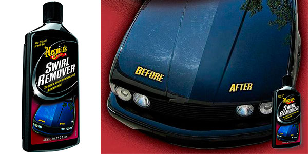 Quitamarcas Meguiars Swirl Remover (450 ml) para el coche barato