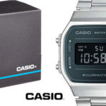 Reloj digital Casio unisex A168WEM-1EF barato en Amazon