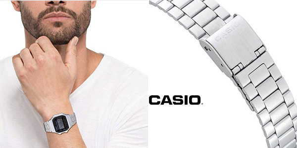 Reloj digital Casio unisex A168WEM-1EF chollo en Amazon