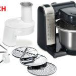 Robot de cocina Bosch MUM48A1 de 600W y 3,9L con 4 velocidades en color gris barato en Amazon