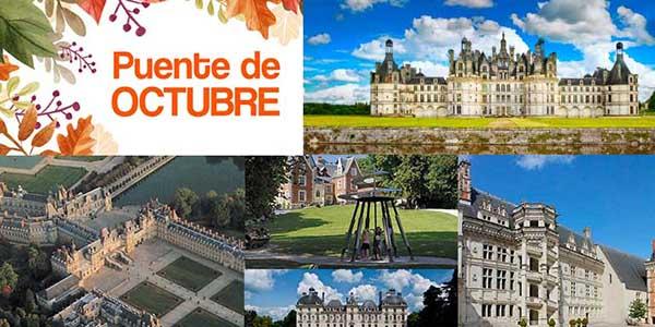 ruta para singles por los Castillos del Loira en oferta septiembre 2018