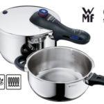 Pack 2 Ollas rápidas WMF Perfect Plus de 4,5L y 3L baratas en Amazon
