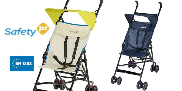 Silla de paseo ligera Safety 1st Peps en azul o amarillo barata en Amazon