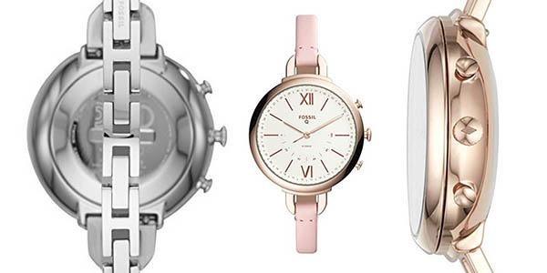smartwatch elegante diseño para mujer Fossil Q Annette híbrido chollo