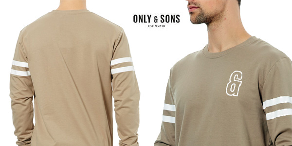 Sudadera Only & Sons color caqui par hombre barata en eBay
