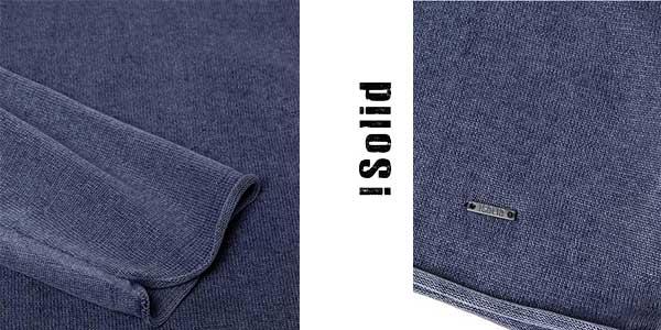 Suéter de manga larga !Solid Knit Malvin para hombre chollazo en Amazon