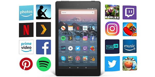 Tablet Fire HD 8 barata