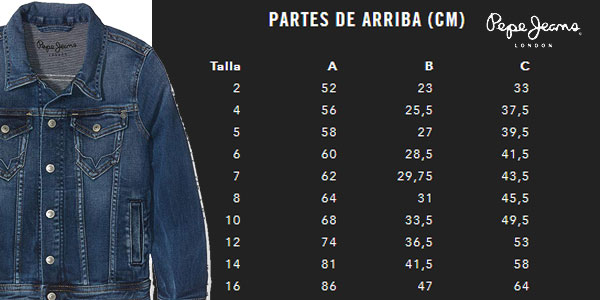Sólo Chaqueta 30 Vaquera Legendary Infantil Pepe Jeans Chollazo Por 0qpdv0