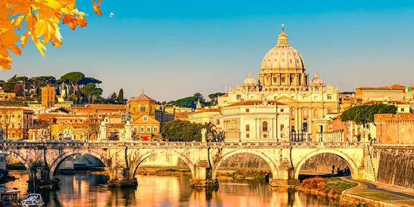 viaje a Roma low cost otoño-invierno con opción a fin de año oferta