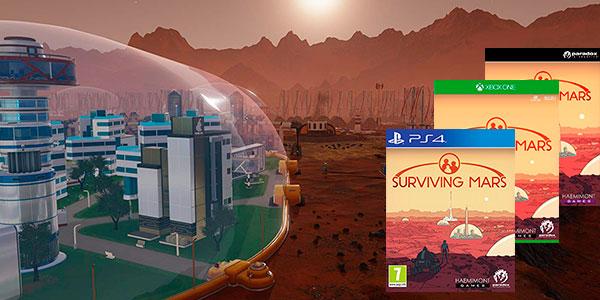 Videojuego Surviving Mars para PS4, Xbox One y PC Steam barato