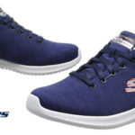 Zapatillas deportivas Skechers Ultra Flex-First Choice en color azul para mujer baratas en Amazon
