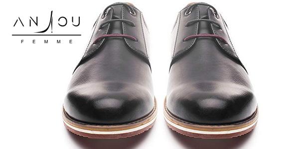 Promoción Zapatos Oxford para hombre de cuero PU chollazo en Amazon