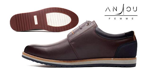 Promoción Zapatos Oxford para hombre de cuero PU chollo en Amazon