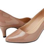Zapatos de vestir Clarks Isidora Faye en color nude para mujer baratos en Amazon