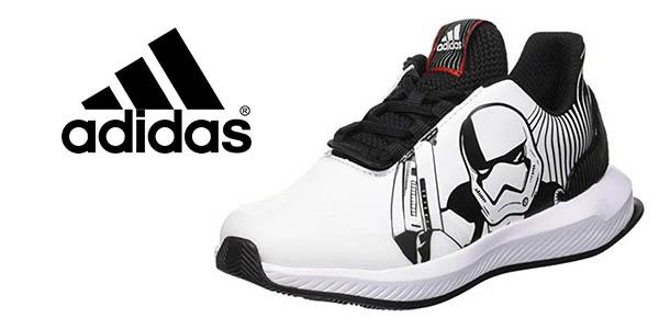 Adidas RapidaRun Starwars K zapatillas infantiles baratas