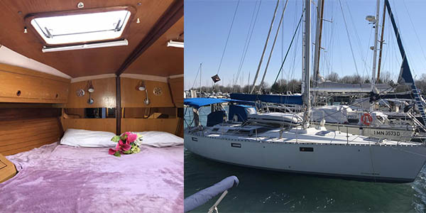 alojamiento en bote en Venecia oferta