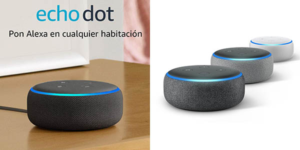Altavoz inteligente Amazon Echo Dot (3.ª generación)