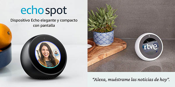Altavoz inteligente Amazon Echo Spot