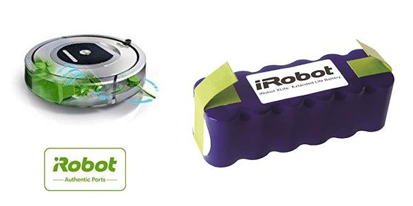 Batería iRobot Xlife para Roomba 600, 700, 800 con vida prolongada chollo en Amazon