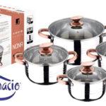Batería de cocina 8 piezas San Ignacio Nona barata en Amazon