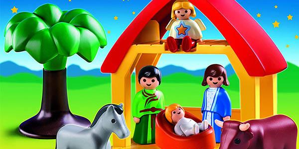 belén Playmobil 1.2.3 para niños entre 1 y 3 años oferta