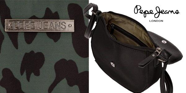 Bolso bandolera Pepe Jeans Morgana con animal print chollazo Amazon