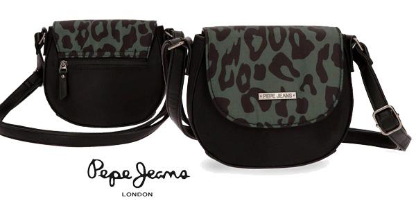 Bolso bandolera Pepe Jeans Morgana con animal print chollo Amazon