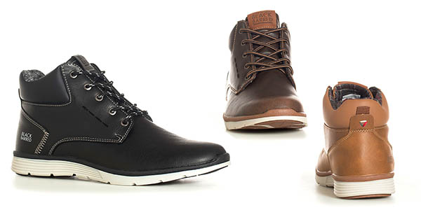 botas casuales Black Birred relación calidad-precio genial