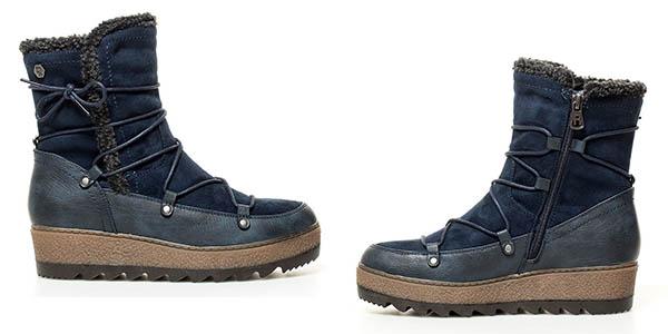 botas de invierno con forro en pelo sintético Refresh April Navy relación calidad-precio