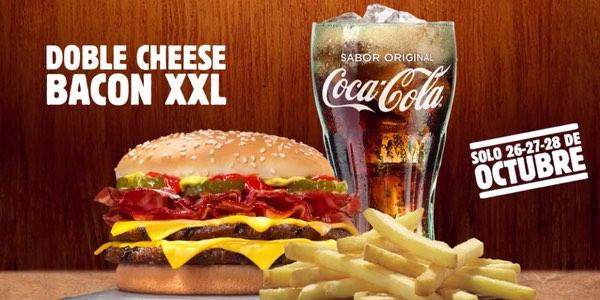 Burger King gratis patatas y bebida