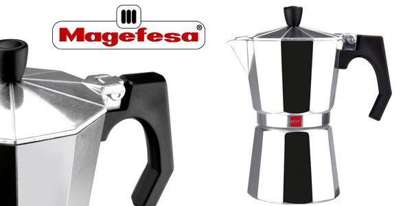Cafetera de aluminio Magefesa Kenia de 9 tazas barata en Amazon