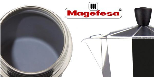 Cafetera de aluminio Magefesa Kenia de 9 tazas chollo en Amazon