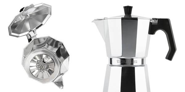 cafetera Taurus Italica para cocinas de inducción oferta