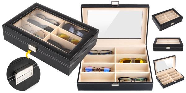 Estuche MVPOWER para guardar y organizar gafas barato en Amazon