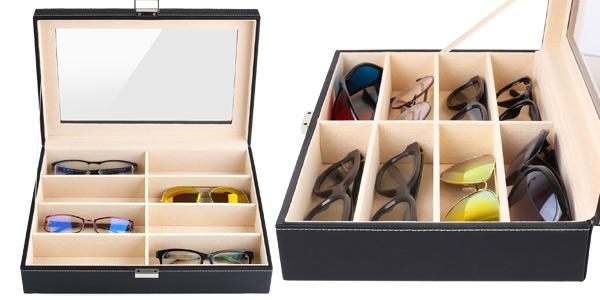 Estuche MVPOWER para guardar y organizar gafas chollazo en Amazon