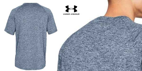 Camiseta manga corta Under Armour UA Tech tee 2.0 para hombre chollazo en Amazon