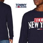 Camiseta Tommy Jeans TJM New York Long Sleeve tee de maga larga para hombre barata en Amazon