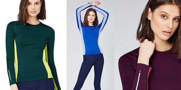 camiseta técnica Activewear para mujer oferta