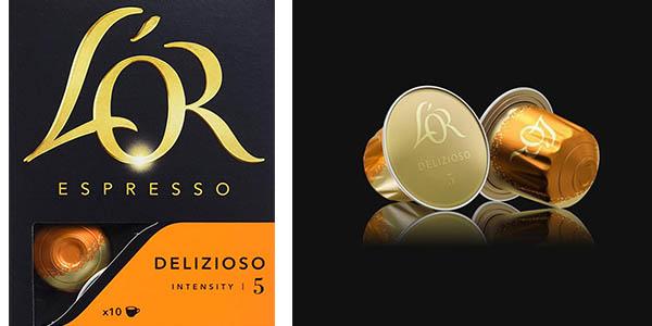 cápsulas de café L'Or Espresso Delizioso de intensidad baja chollo