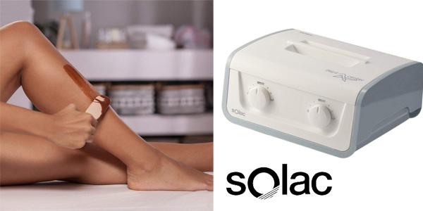 Centro de depilación de cera caliente Solac DC 7500 chollo en Amazon