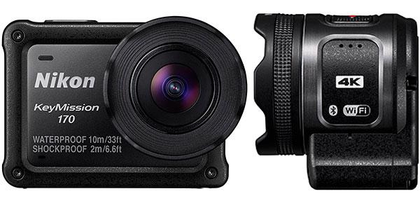 Chollo Cámara deportiva Nikon KeyMission 170 4K Ultra HD