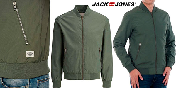 Chollo Chaqueta bomber Jack & Jones Jornew Pacific para hombre