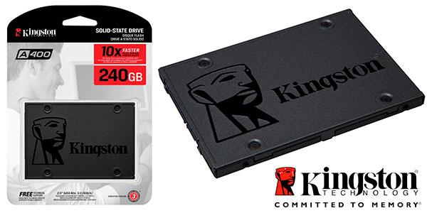 Chollo Disco SSD Kingston A400 de 240 GB