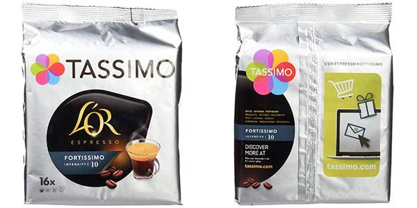 Pack de 80 cápsulas Café L'or Espresso Fortissimo barato