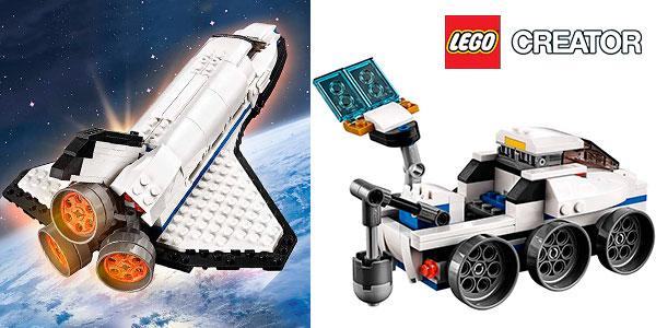 Chollo Playset Lanzadera espacial 31066 3 en 1 de LEGO Creator